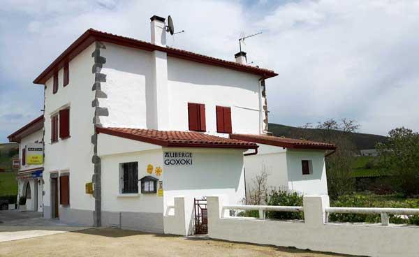 Auberge Goxoki à Sait-Martin d'Arberoue